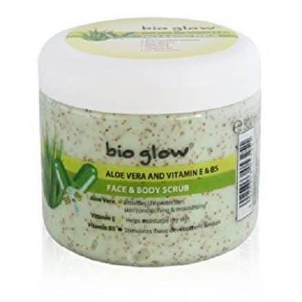 Bio Glow Скраб за Лице и Тяло – Алое Вера