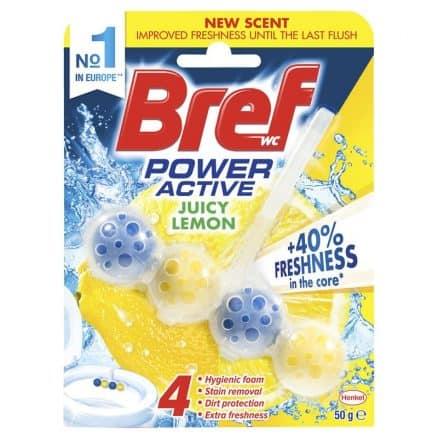 Bref Power Activ Ароматизатор за Тоалетна Лимон 50 g.