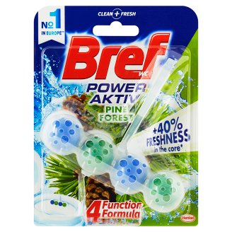 Bref Power Activ Ароматизатор за Тоалетна Pine Forest 50 g.