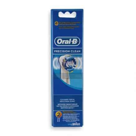 Oral-B Накрайници за Ел. Четка за Зъби Precision Clean – 2 бр.