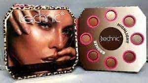 Technic Glow Palette – Палитра Хайлайтъри и Бронзанти