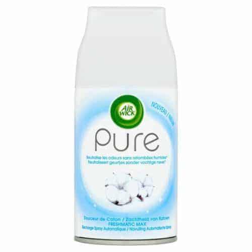 Air Wick Pure Спрей Ароматизатор – Мек Памук 250 ml.