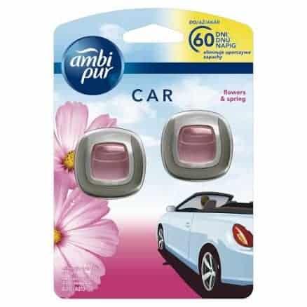 Ambi Pur Car Ароматизатор за Автомобил – Flowers & Spring 2 x 2 ml.