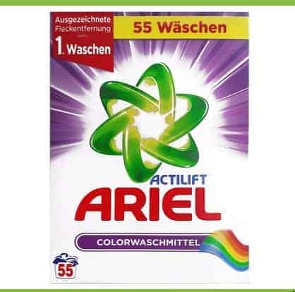 Ariel Actilift Прах за Цветно Пране – 55 Изпирания 3575 г.