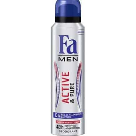 Fa Дезодорант Men – Active & Pure 150 ml.