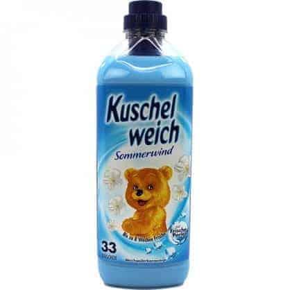 Kuschelweich Sommerwind Омекотител – 33 Изпирания 990 мл.
