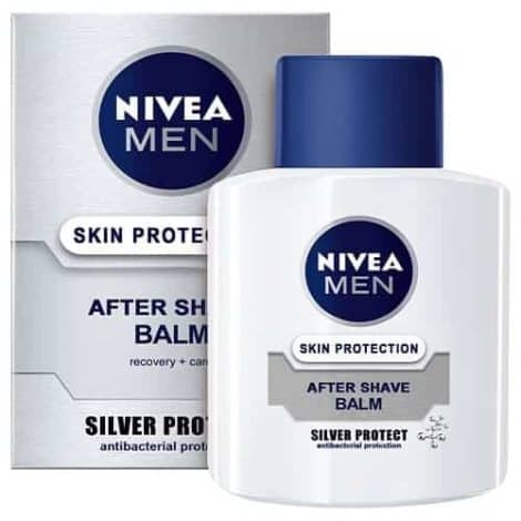 Nivea Men Афтършейв Балсам – Silver Protect 100 ml.