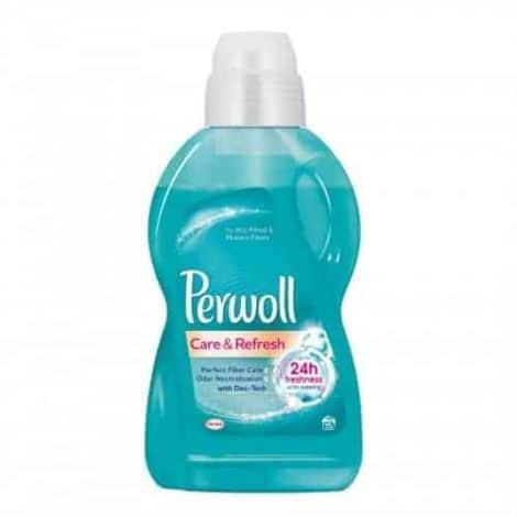 Perwoll Течен Перилен Препарат Care & Refresh 15 изпирания 900 мл.