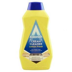 Astonish Универсална Почистваща Паста – Cream Cleaner Лимон 500 мл.