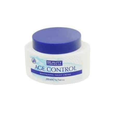Beauty Formulas Ревитализиращ Нощен Крем – Age Control 200 ml.