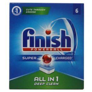 Finish Powerball All in1 Таблетки за Съдомиялна – 6 табл. 109 гр