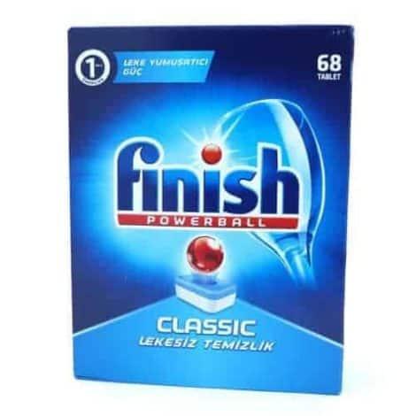 Finish Powerball Classic Таблетки за Съдомиялна – 68 табл. 1108 г.