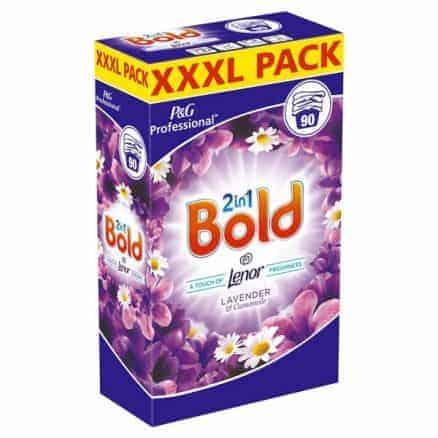 Bold Прах за Пране 2in1 – Лавандула и Лайка 90 Изпирания 5.850 г.
