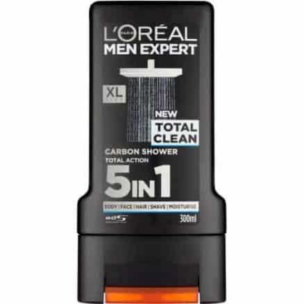 L´Oréal Men Expert Душ Гел – Total Clean 300 ml.