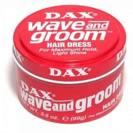 Dax Wave and Groom Вакса за Коса за Силна Фиксация на Къса Коса