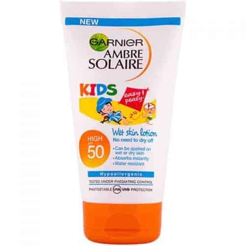 Garnier Ambre Solaire Детски Слънцезащитен Крем – SPF 50 +/ 50 ml.