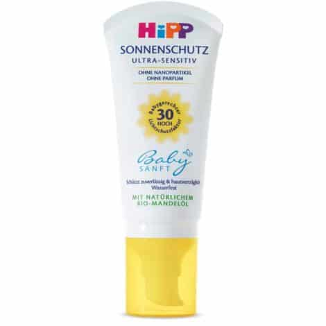 Hipp Детски Слънцезащитен Крем - Ultra Sensitiv SPF 30/50 ml.