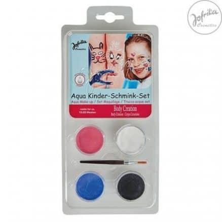 Jofrika Детски Водни Бои за Лице и Тяло – 4 Цвята