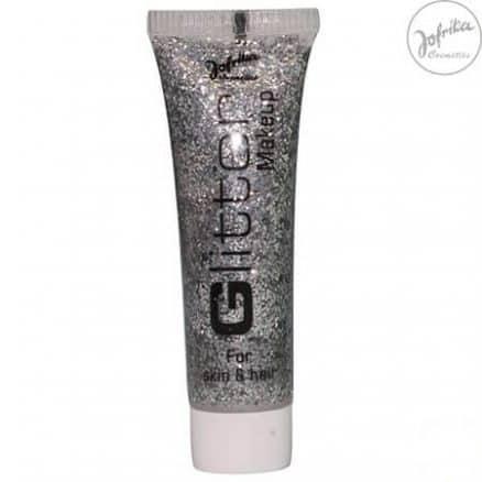Jofrika Glitter Make-Up Брокатен Гел - Silver