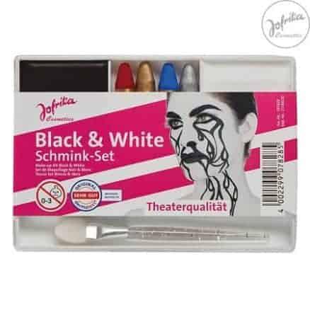 Jofrika Грим Сет за Лице - Black & White
