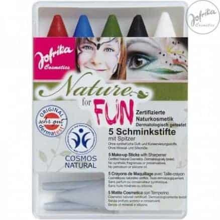 Jofrika Комплект Пастелни Бои за Лице - Nature for Fun 5 Цвята