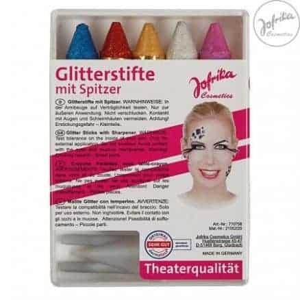 Jofrika Комплект Пастелни Бои с Блясък за Лице 5 Цвята