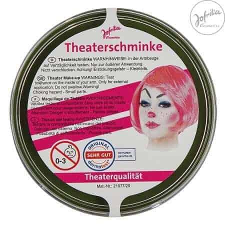 Jofrika Театрален Грим - Зелен