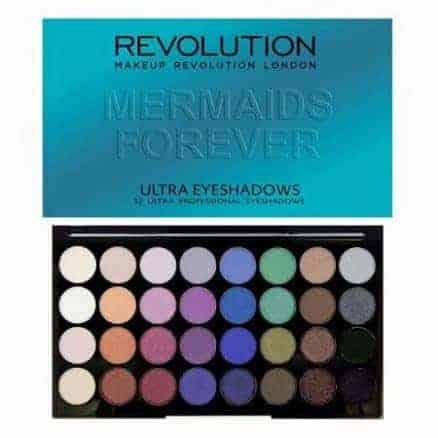 Revolution Палитра Сенки за Очи - Mermaids Forever 32 Цвята
