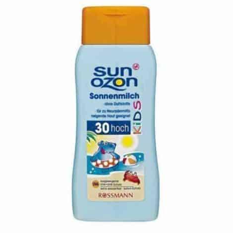 Rossmann Sun Ozon Детско Слънцезащитно Мляко - SPF 30/200 ml.
