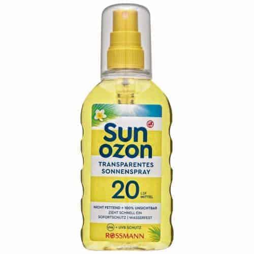 RRossmann Sun Ozon Слънцезащитен Спрей – SPF 20/200 ml.