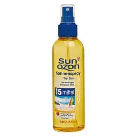 Rossmann Sun Ozon Слънцезащитен Спрей - SPF 15/200 ml.