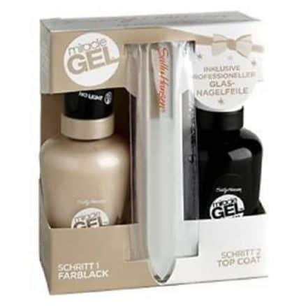 Sally Hansen Miracle Gel Гел Лак за Нокти + Топ Лак – 610 Cream of The Crop