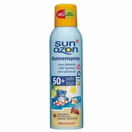 Детски Слънцезащитен Спрей Sun Ozon 150 ml. SPF 50 +