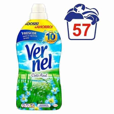 Омекотител Vernel Cielo Azul 57 Изпирания 1.313 л.