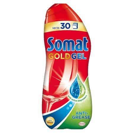 Somat Gold Gel Препарат за Съдомиялни - Anti Grease 600 ml.