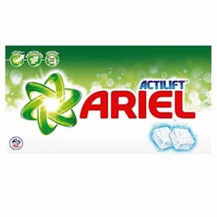 Таблетки за Бяло и Цветно Пране Ariel Actilift 42 Изпирания 2772 гр.