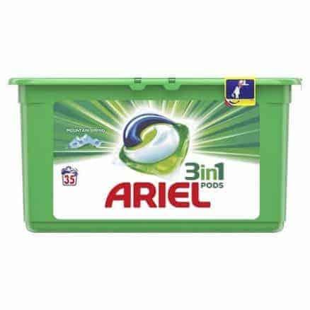 Капсули за Пране Ariel 3in1 A+ Regular Pods 38 изпирания