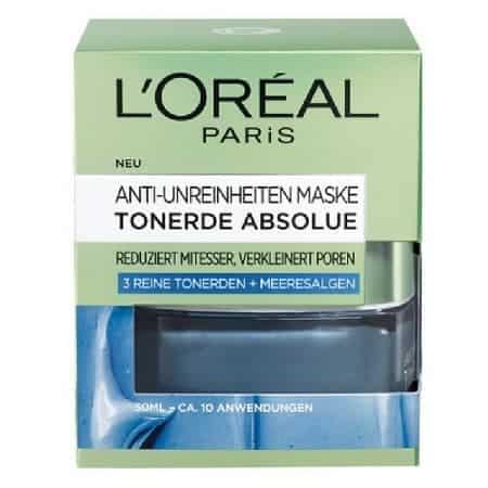 Маска за Лице с Глина Против Несъвършенства L'Oréal Pure Clay
