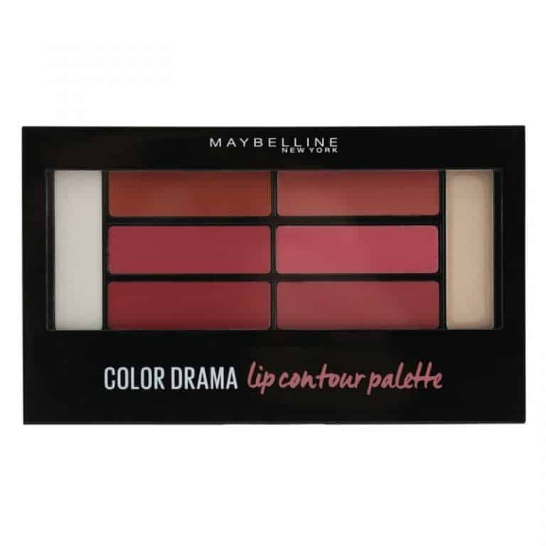 Палитра Червила Maybelline Color Drama – 02 Blushed Bombshell