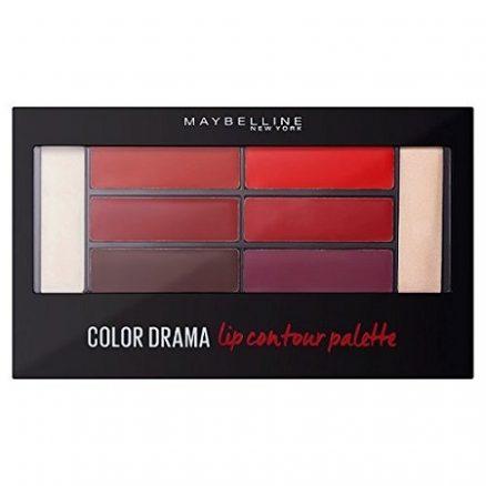 Палитра Червила Maybelline Color Drama - 01 Crimson VixenDrama – 01 Crimson Vixen