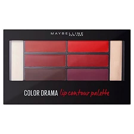 Палитра Червила Maybelline Color Drama - 01 Crimson VixenDrama – 01 Crimson Vixen