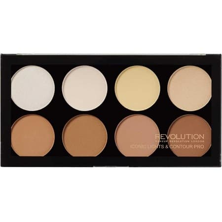 Палитра Контури за Лице Makeup Revolution Iconic Lights & Contour Pro