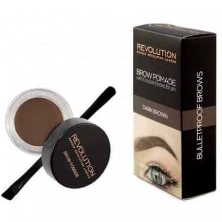 Помада за Оформяне на Вежди Makeup Revolution Dark Brown