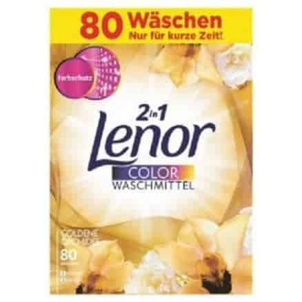 Прах за Цветно Пране Lenor 2in1 Golden Orchidee 80 Изпирания 5200 гр.