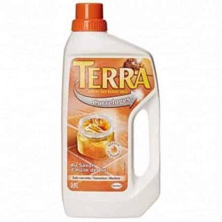 Препарат за Почистване на Плочки с Ленено Масло Terra 0.9 л.