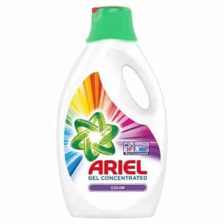 Течен Перилен Препарат за Цветно Пране Ariel Color 50 Изпирания 2750 мл.