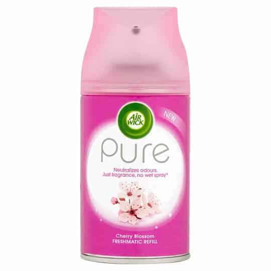 Спрей Ароматизатор Air Wick Pure Цвят от Череша 250 ml.