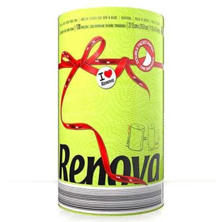 Зелена Кухненска Ролка Хартия Renova