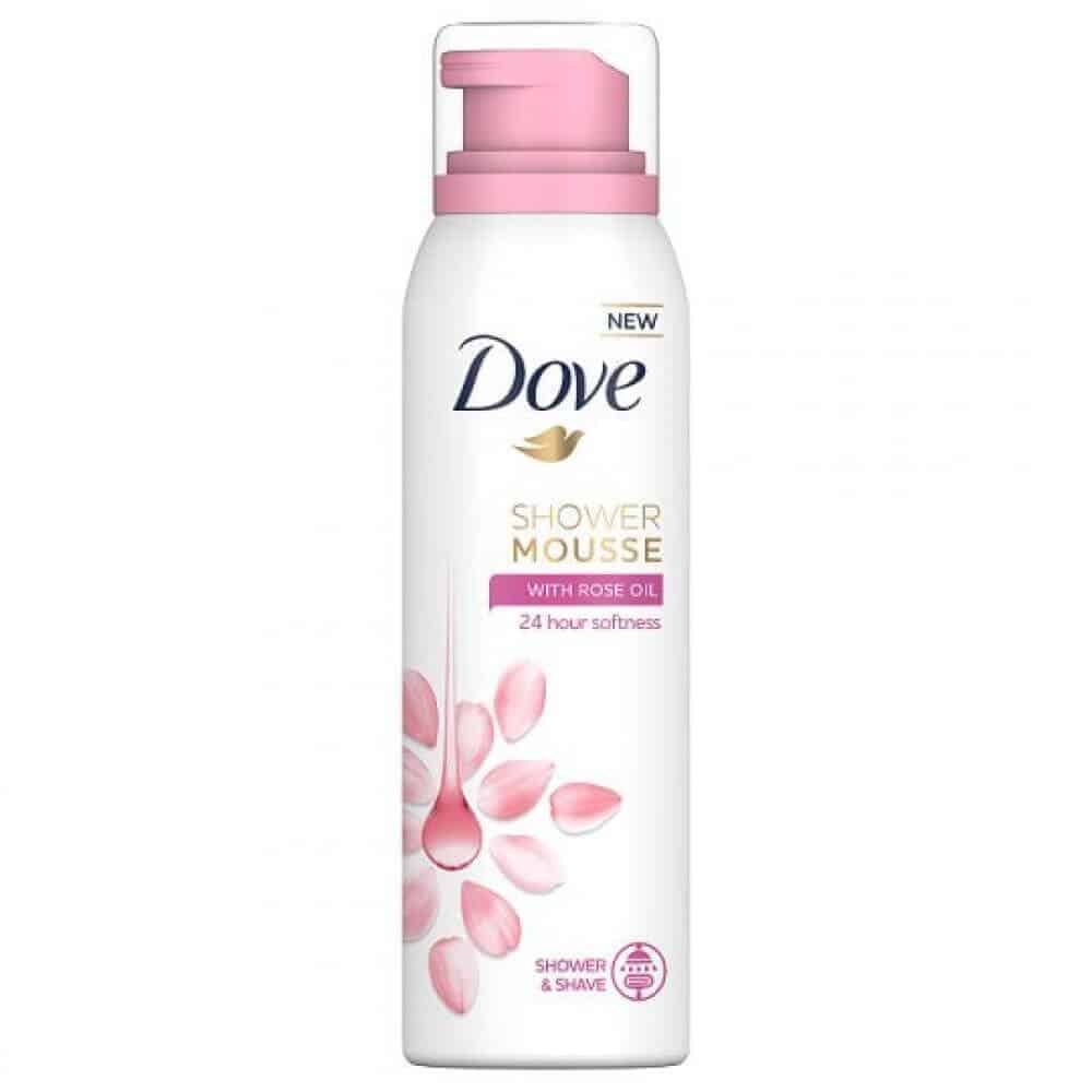 Душ Пяна Dove Rose Oil 200 мл.