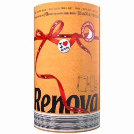 Кухненска Ролка Хартия Renova Оранжева